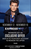 Express black friday preview page 1