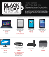 Staples black friday preview 2014