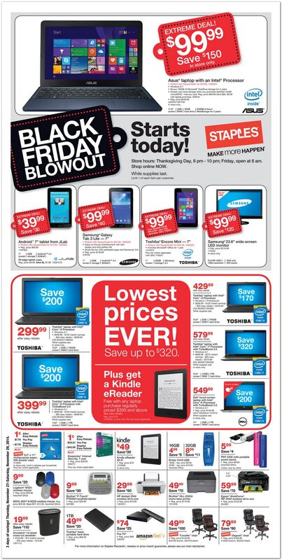Staples black friday ad 2014 01