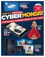 Walmart cybermonday page  page 1