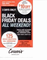 Carsons august black friday deals 2013 page 1 full