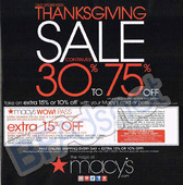 Macys thanksgiving sale 2013 1