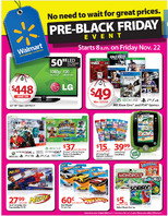Walmart pre black friday ad 2013