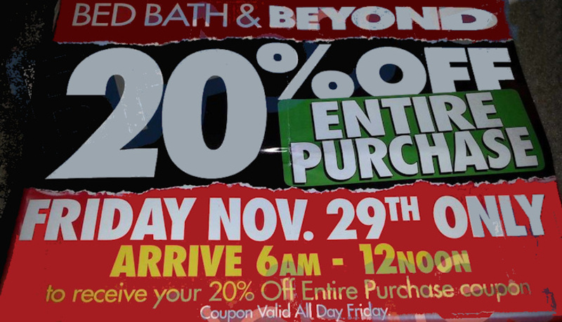 Bed bath and beyond black friday ad 2013 1
