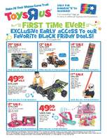 Toys r us black friday early access 2013 page 1