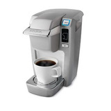 Keurig b31 mini plus single cup brewer  platinum   park and main 2013 08 02 11 01 59