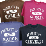 Personalized athletic property of t shirt personalized sport shirt 2013 08 07 09 59 40