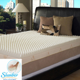 Slumber solutions highloft supreme 4 inch memory foam mattress topper