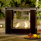 Wesley indoor  outdoor portable fireplace