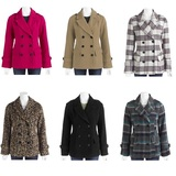 Women s essential faux wool peacoat