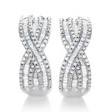 1 ctw Diamond Earrings $99 Shipped