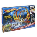 Hot wheels triple track set