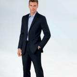 Joseph slim fit 2 button plain front wool suit  charcoal black microstripe 2013 12 04 08 37 44