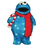 Cookie monster pre lit lawn