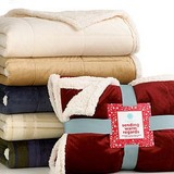 Martha stewart sherpa throw