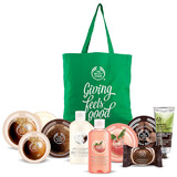 The body shop 10 piece moisturizing body care collection