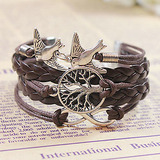 Life tree infinite bird bracelet