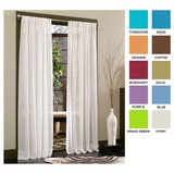 Sheer Curtain Panel 2-Pack $11 Shipped