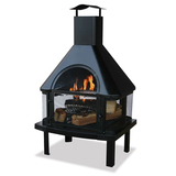 Blue rhino 360 degree black firehouse   overstock