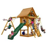 Gorilla outdoor wood playset