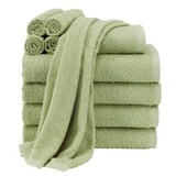 Basic 10 piece cotton towel set   walmart.com