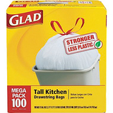 Glad  tall kitchen trash bags