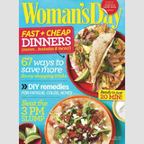 One Year of Woman's Day Magazine $4.99