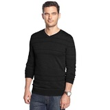 Men s alfani slim fit v neck textured sweater