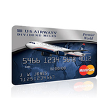 2 Free Flights with US Airways Mastercard
