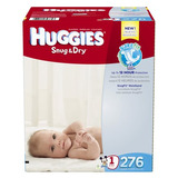 276 Huggies Snug & Dry Diapers $38