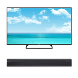 "Free Soundbar w/55"" or 60"" Smart TV $999"