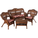 4 Pc Resin Wicker Set,3 Colors, $310 Ship