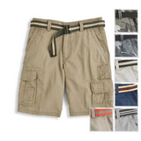 Modells mens north bady cargo shorts