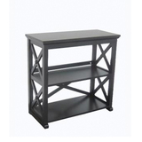 Home decorators collection brexley black 2 shelf bookcase