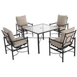 Hampton Bay 5pc Patio Dining Set $240 +FS