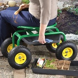 Garden Seat with Wheels $55 Shipped