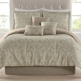 Macy's 7pc Jacquard Bedding Sets from $68