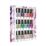 Nyx 18pc love in air nail polish set
