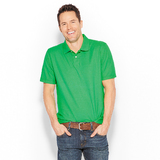 Sun river solid color pique  polo shirt