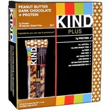 Gluten free peanut butter dark chocolate bar with protein   12 pack  1.4 oz ea    abe s market