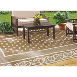 6' x 9' Patio Rug $33 Shipped