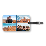 Gallery of four luggage tag
