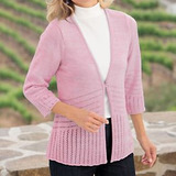 Pointelle Cardigan $13 Shipped