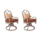 Thomasville cushioned patio chairs