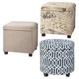 Storage Ottomans $56 Shipped!