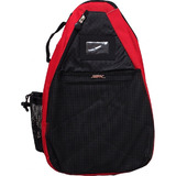 Jet Red T-Strap Tennis Bag $14