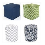 Indoor Outdoor Small Cubes & Poufs $11