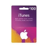 $100 iTunes Gift Card $85 Shipped