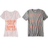American Eagle Graphic Tees at $6