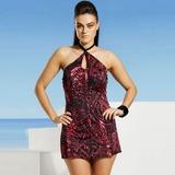 Swimsuits for all snakeskin swim dress